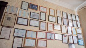 Награды реабилитационного центра Шаг