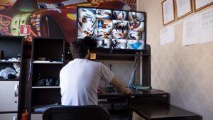 Круглосуточное видеонаблюдениереабилитационного центра Шаг